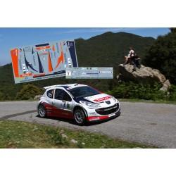 Bryan Bouffier - Peugeot 207 S2000 - Rally Tour de Corse 2011