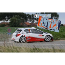 Bryan Bouffier - Peugeot 207 S2000 - Rally Ypres 2011