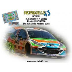 Alex Camacho - Peugeot 207 S2000 - Rali Vinho da Madeira 2008