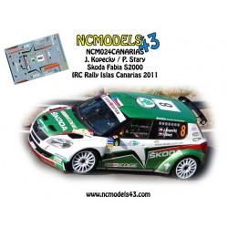 Jan Kopecky - Skoda Fabia S2000 - Rally Islas Canarias 2011