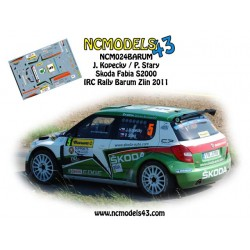 Jan Kopecky - Skoda Fabia S2000 - Rally Barum 2011