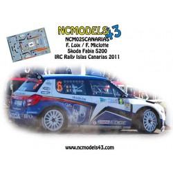 Freddy Loix - Skoda Fabia S2000 - Rally Islas Canarias 2011