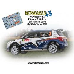 Freddy Loix - Skoda Fabia S2000 - Rally Ypres 2011