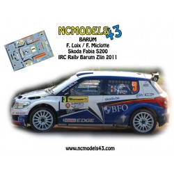 Freddy Loix - Skoda Fabia S2000 - Rally Barum 2011