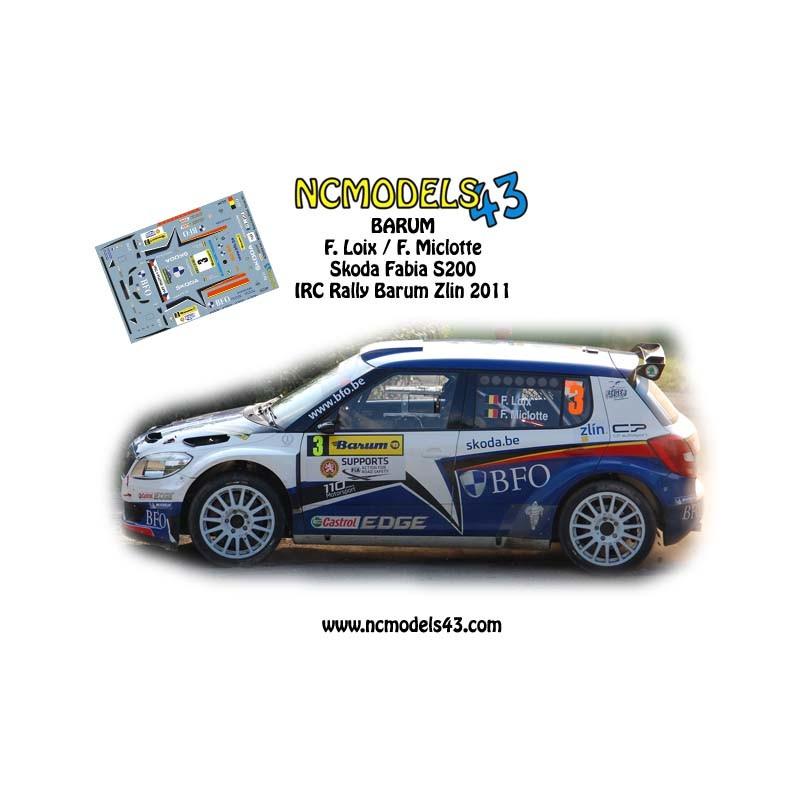 Barum Rally: Skoda Fabia S2000