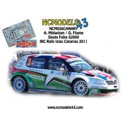 Andreas Mikkelsen - Skoda Fabia S2000 - Rally Islas Canarias 2011