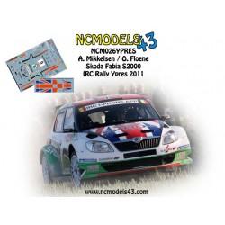Andreas Mikkelsen - Skoda Fabia S2000 - Rally Ypres 2011