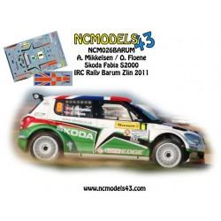Andreas Mikkelsen - Skoda Fabia S2000 - Rally Barum 2011