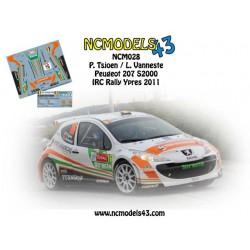 Pieter Tsjoen - Peugeot 207 S2000 - Rally Ypres 2011