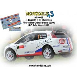 Luca Rossetti - Fiat Punto S2000 - Rally Ypres 2011