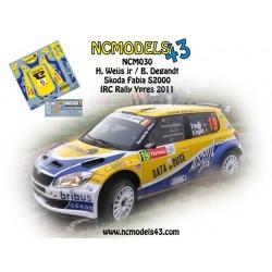 Hans Weijs jr. - Skoda Fabia S2000 - Rally Ypres 2011