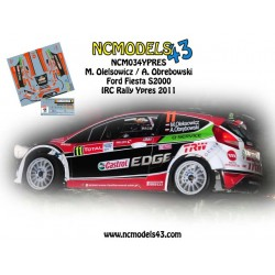 Maciej Oleksowicz - Ford Fiesta S2000 - Rally Ypres 2011