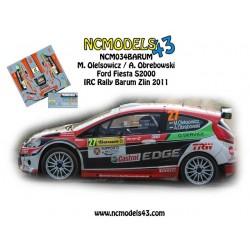 Maciej Oleksowicz - Ford Fiesta S2000 - Rally Barum 2011