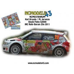 Karl Kruuda - Skoda Fabia S2000 - Rally Barum 2011