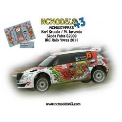 Karl Kruuda - Skoda Fabia S2000 - Rally Ypres 2011
