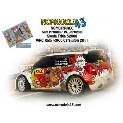 Karl Kruuda - Skoda Fabia S2000 - Rally Spain Catalunya 2011