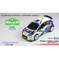 Ford Fiesta R5 - Alastair Fisher - Rally Circuit of Ireland 2015