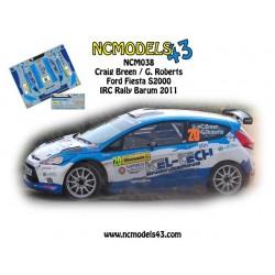 Craig Breen - Ford Fiesta S2000 - Rally Barum 2011