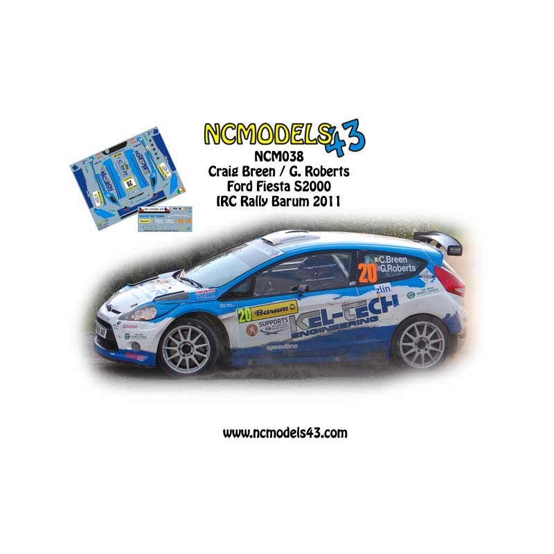 Barum Rally: Ford Fiesta S2000