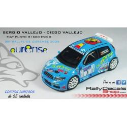 Fiat Punto S1600 EVO II - Sergio Vallejo - Rallye de Ourense 2005