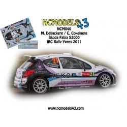 Melissa Debackere - Peugeot 207 S2000 - Rally Ypres 2011