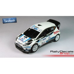 Ford Fiesta RS WRC - Lionel Baud - Rally Touquet 2014