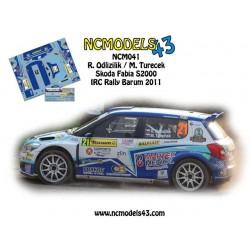 Roman Odlozilik - Skoda Fabia S2000 - Rally Barum 2011