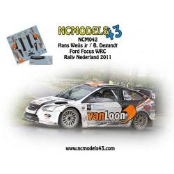 Hans Weijs jr - Ford Focus WRC - Rally Nederland 2011