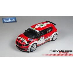 Skoda Fabia S2000 - Jan Kopecky - Rally Bohemia 2014
