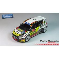 Quentin Gilbert - Citroen DS3 WRC - Quentin Gilbert - Rallye Rouergue 2014