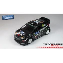 Skoda Fabia S2000 - Jaroslav Orsák - Rally Ypres 2014