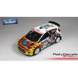 Ford Fiesta RS WRC - Jarkko Nikara - Rally Finland 2014