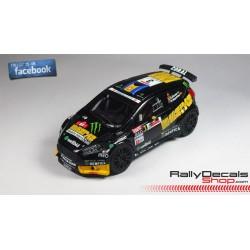 Ford Focus WRC - Fernando Capdevila - Rally Islas Canarias 2013