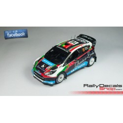 Ford Fiesta RS WRC - Bernardo Sousa - Rally Portugal 2011