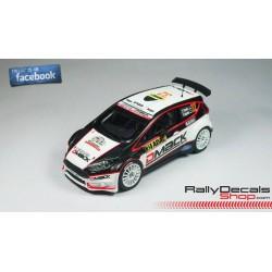 Ford Fiesta R5 - Ott Tanak - Rally Deutschland 2014
