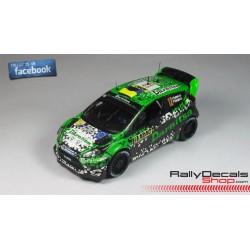 Ford Fiesta R5 - Miguel Fuster - Rally Sierra Morena 2014