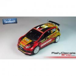 Ford Fiesta RS WRC - Yuriy Protasov - Rally Deutschland 2014