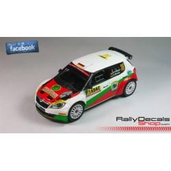 Skoda Fabia S2000 - Armin Kremer - Rally Deutschland 2014