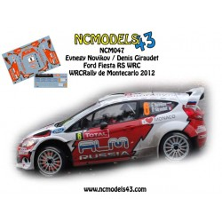 Evgeniy Novikov - Ford Fiesta WRC - Rally Montecarlo 2012