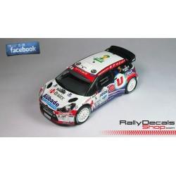 Peugeot 207 S2000 - Raphael Venant - Rally Ypres 2014