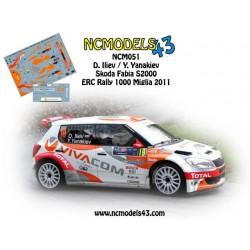 Dimitar Iliev - Skoda Fabia S2000 - Rally 1000 Miglia 2011