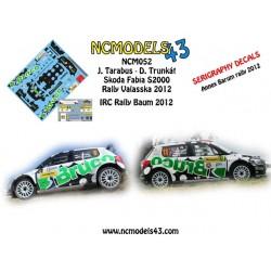 Jaromir Tarabus - Skoda Fabia S2000 - Valasska Rally 2012