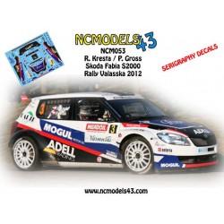 Roman Kresta - Skoda Fabia S2000 - Valasska Rally 2012